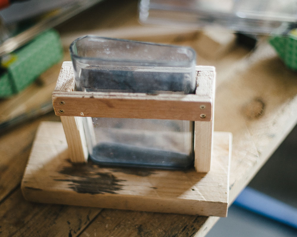 Cheap, easy to make, wetplate dip tank